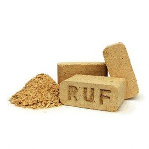 RUF – Bûche rectangulaire bois compressé
